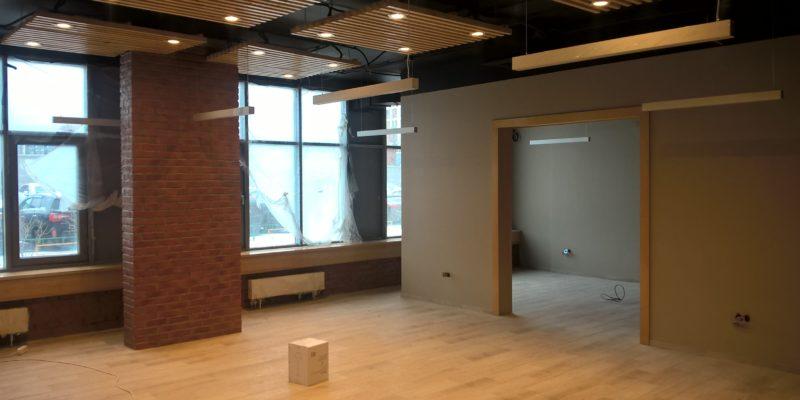 Ремонт торгового помещения от РСК АСКА